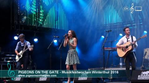 Pigeons On The Gate - Live at 41. Musikfestwochen (1)
