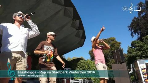 Flashdigga - Rap im Stadtpark 2016 (1)