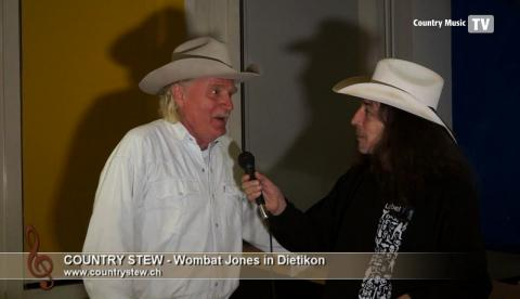 Country Stew - Interview mit Wombat Jones Dietikon 2017