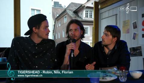 Tigershead - Interview an den 42. WInterthurer Musikfestwochen