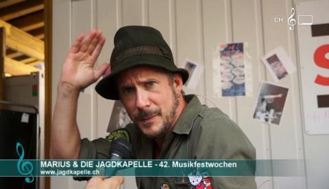 Marius & die Jagdkapelle - Interview an den 42. Winterthurer Musikfestwochen