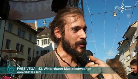 Fabe Vega - Interview an den 42. Winterthurer Musikfestwochen