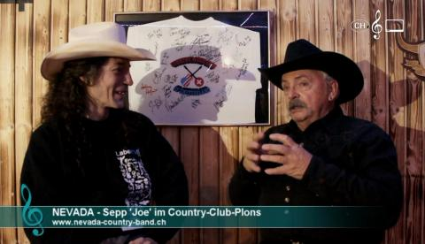 Nevada Country Band - Interview mit Joe im Country Club Plons