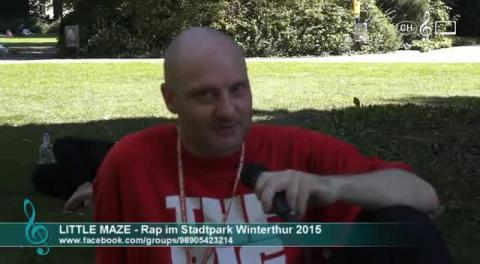 DJ Little Maze - Interview zum Rap im Stadtpark 2015