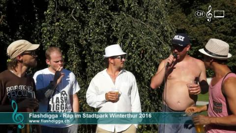 Flashdigga - Interview am Rap im Stadtpark 2016