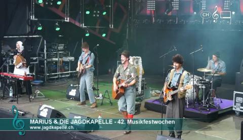 Marius & die Jagdkapelle - Dachs Adalbert (live)
