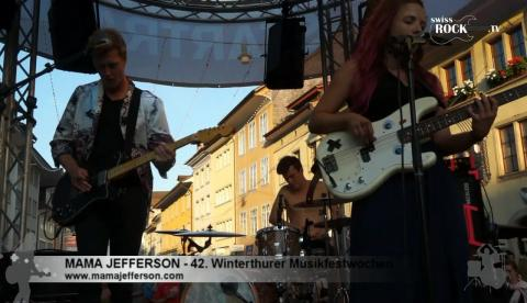 Mama Jefferson - La La La (live at MFW 2017)