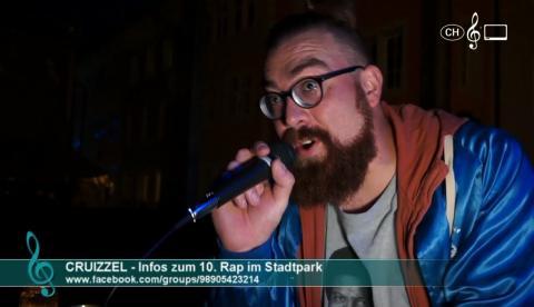 Cruizzel - Infos zum 10. Rap im Stadtpark