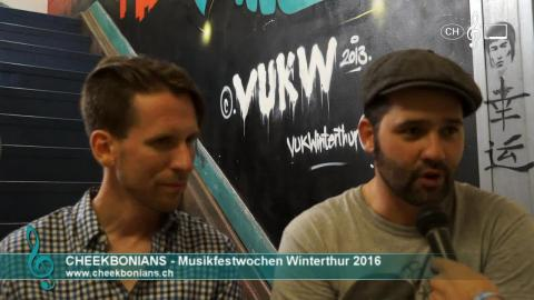 Cheekbonians - Interview an den 41. Musikfestwochen