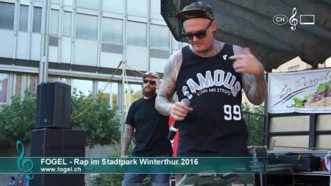 Fogel - Rap im Stadtpark (1)