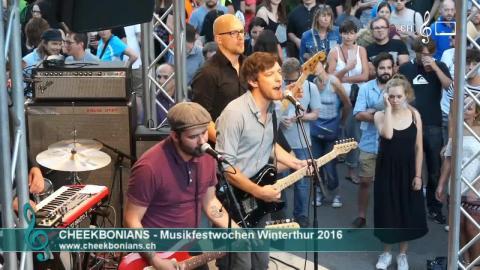 Cheekbonians - Hard Times (live, MFW 2016)