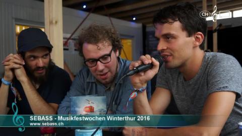Sebass - Interview an den 41. Musikfestwochen