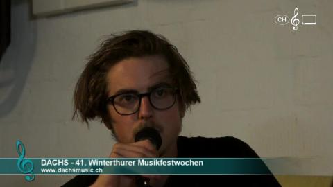 Dachs - Interview an den 41. Musikfestwochen