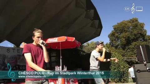 Chésco Polo - Rap im Stadtpark Winterthur (1)