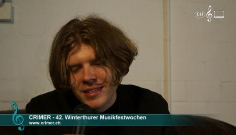 Crimer - Interview an den 42. Winterthurer Musikfestwochen