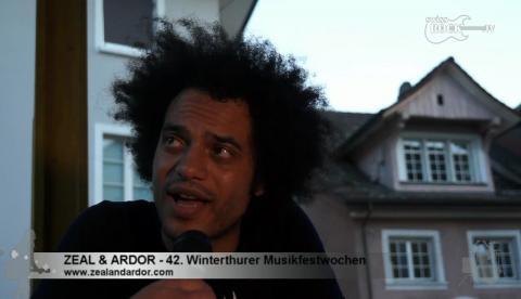 Zeal & Ardor - Interview an den 42. Winterthurer Musikfestwochen