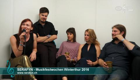 Serafyn - Interview an den 41. Winterthurer Musikfestwochen