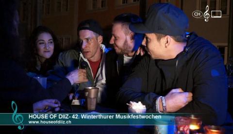 House Of Diiz - Interview an den 42. Winterthurer Musikfestwochen