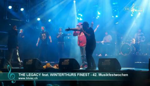 The Legacy feat. Fogel, Tüli und Mr Penncroff - 42. Winterthurer Musikfestwochen (live)