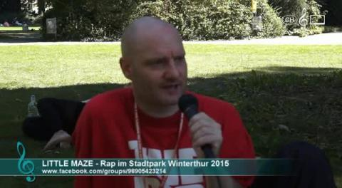 DJ Little Maze - Interview am Rap im Stadtpark