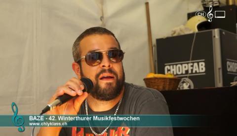 Baze - Interview an den 42. Winterthurer Musikfestwochen
