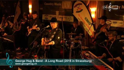 George Hug - A Long Road (live in Strassbourg)