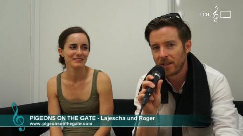 Pigeons On The Gate - Interview an den 41. Musikfestwochen