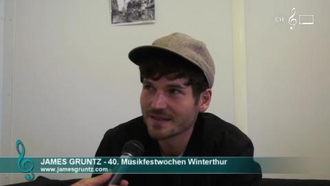 James Gruntz - Interview an den 40. Musikfestwochen Winterthur