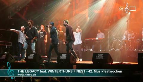 The Legacy feat. Eigänabou - 42. Winterthurer Musikfestwochen (live)