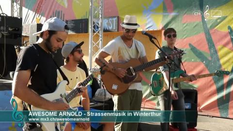 Awesome Arnold - Strassenmusik in Winterthur