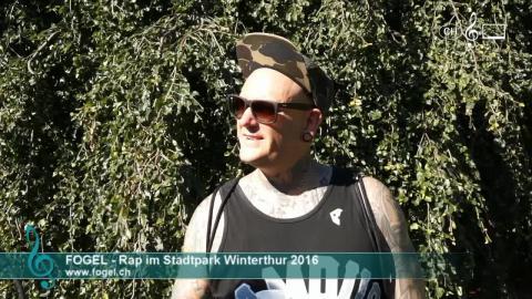 Fogel - Interview am 9. Rap im Stadtpark