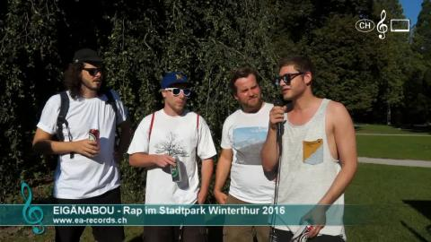 Eigänabou - Interview am 9. Rap im Stadtpark