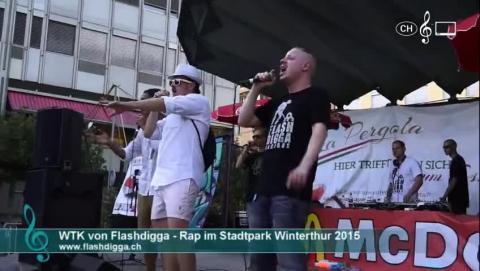 WTK (Flashdigga) - Stächzäni (live im Stadtpark)